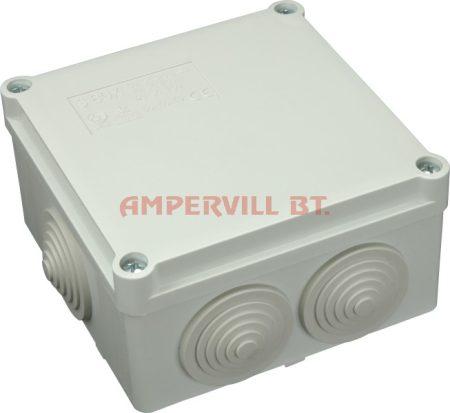 SEZ S-BOX 106 Kötődoboz, 100×100×50mm IP55