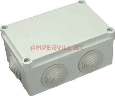 SEZ S-BOX 206 Kötődoboz, 120×80×50mm IP55