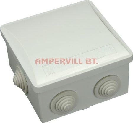 SEZ S-BOX 036 Kötődoboz, 80×80×40mm IP44