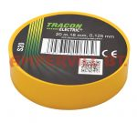 Tracon Szigetelőszalag Normál Sárga S20