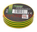 Tracon Szigetelőszalag Normál Zöld-Sárga ZS20