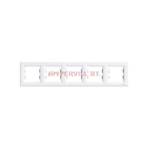 ASFORA 5-ös Keret, vízszintes, Fehér EPH5800521