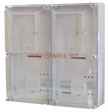 CSP PVT EON-6060 Á-V FM-AM 2 mérőhelyes szekrény, Vezérelt