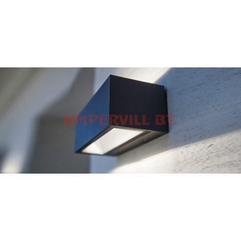 LUTEC 1891MGR GEMINI LED 20W 1230lm 4000K IP54  Fali Lámpa