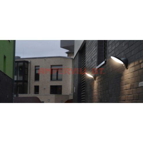 LUTEC 1896-PIR-3KGR TONA LED 9W 600lm 3000K IP44 Fali Lámpa