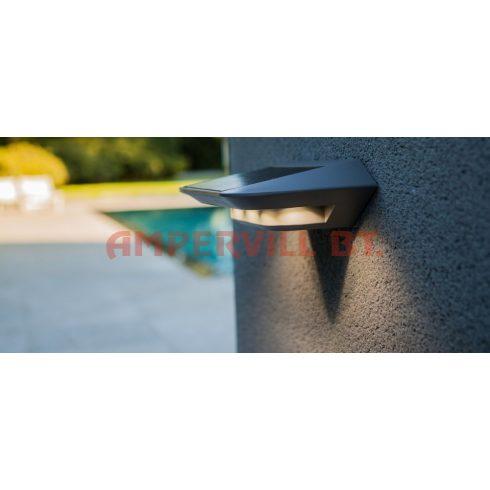 LUTEC P9014SI GHOST SOLAR LED 2,4W IP44 5000K Fali lámpa